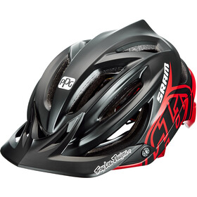 Troy Lee Designs A2 MIPS Decoy casco per bici, sram black/red